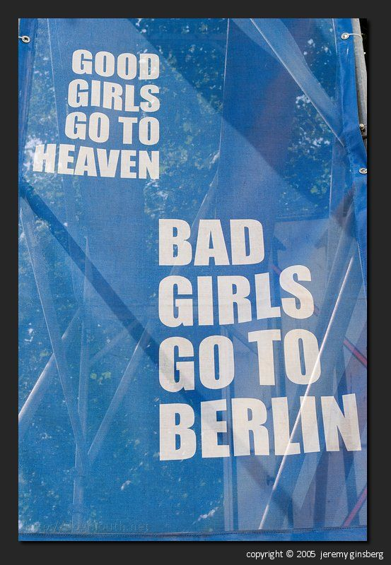 Bad girls go to Berlin