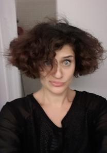 touffe de cheveux