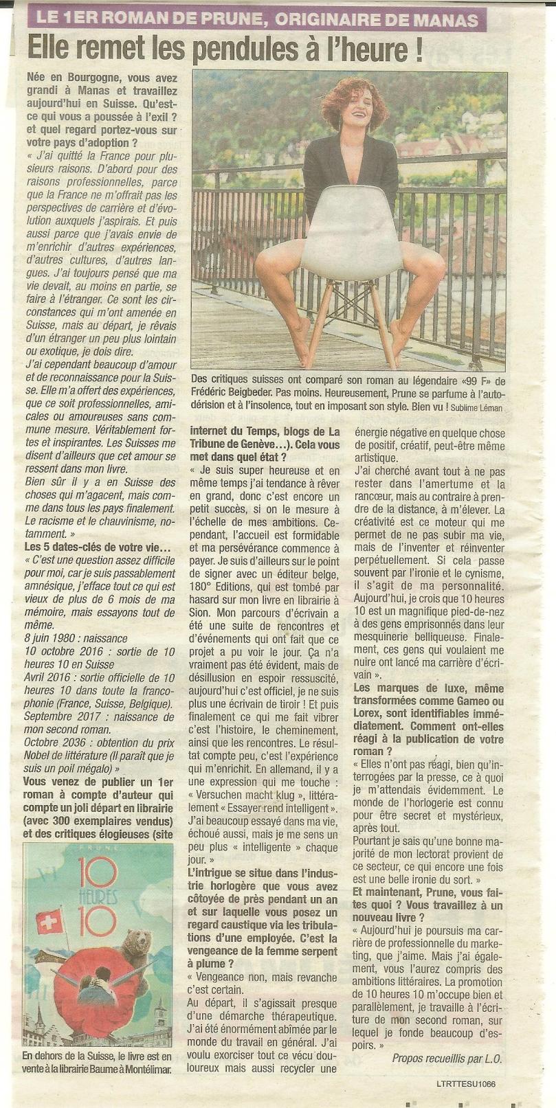 La Tribune - 28.01.16
